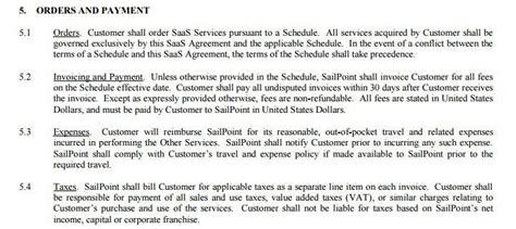 net 30 terms agreement saas agreement termsfeed