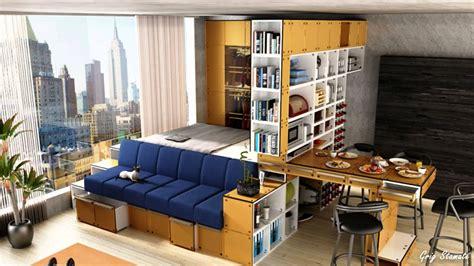 Platform Bed Small Studio Apartment Ideas