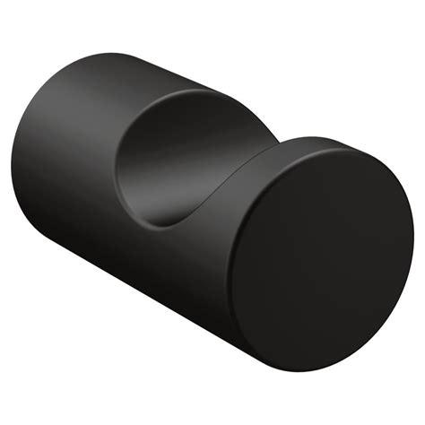 modern faucets for kitchen moen align single robe hook in matte black yb0403bl the