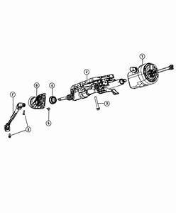 Dodge Durango Column  Steering  Export   Tilt  Telescope