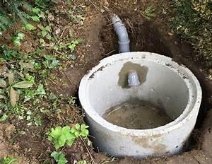 Beton Berechnen : sickerschacht f r wasserablauf whirlpool im garten ~ Themetempest.com Abrechnung