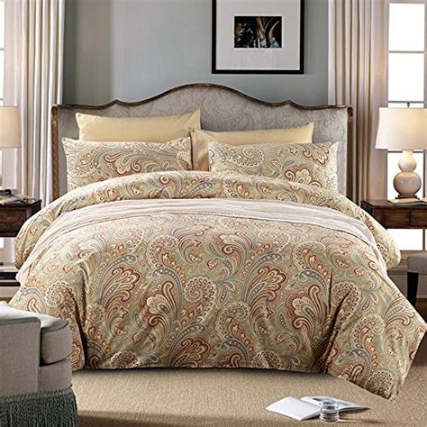 paisley king comforter brandream hotel collections soft cotton 3