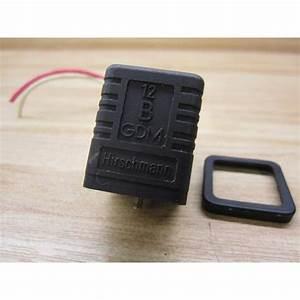 Hirschmann 12-b-gdm Plug 10a 250v 12bgdm Wwires
