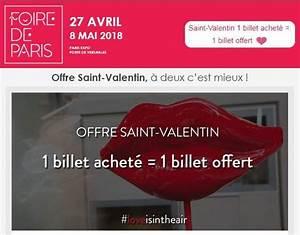 Code Invitation Foire De Paris : ticket gratuit pour la foire de paris ~ Medecine-chirurgie-esthetiques.com Avis de Voitures