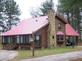 2 bedroom log cabin plans metal roof on cabin traditional exterior other