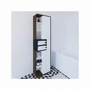 Colonne Salle De Bain Bois : colonne salle de bain achat vente colonne salle de bain pas cher cdiscount ~ Teatrodelosmanantiales.com Idées de Décoration