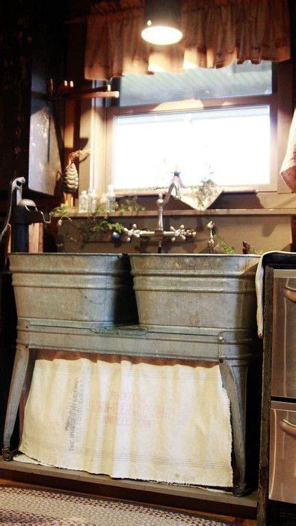 rustic kitchen sink best 25 rustic cabin kitchens ideas on log