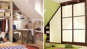 Faire Dressing Dans Une Chambre : 5 conseils pour un dressing sous pente parfait ~ Premium-room.com Idées de Décoration