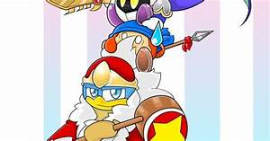 Kirby,Meta knight,King Dedede and Waddle Dee | Kirby ...