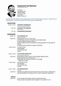 pdf resume template learnhowtoloseweightnet With free resume templates pdf format