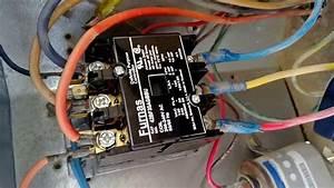 24 Volt Vs 240 V Coil Contactor Wiring Diagram Air Conditioner Contactor