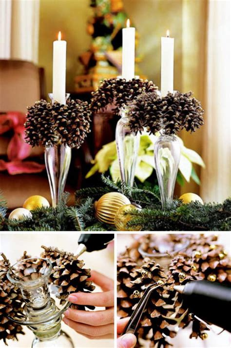 ideas with pine cones 30 festive diy pine cone decorating ideas hative