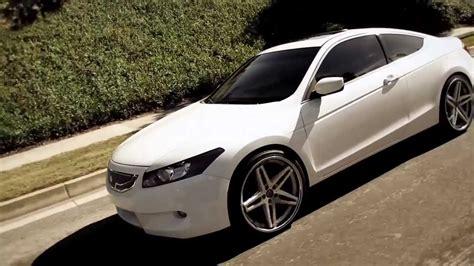 white honda accord   nice  lexani   wheels