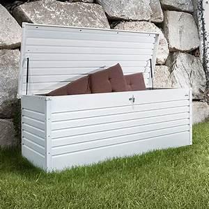 Biohort Freizeitbox 160 : biohort garten aufbewahrungsbox freizeitbox 160 wei 0 79 x 1 6 x 0 83 m stahlblech 7437 ~ Orissabook.com Haus und Dekorationen