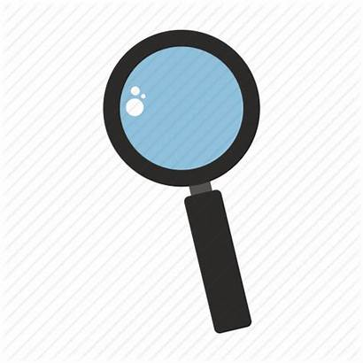 Magnifying Glass Icon Transparent Background Illustration Sign