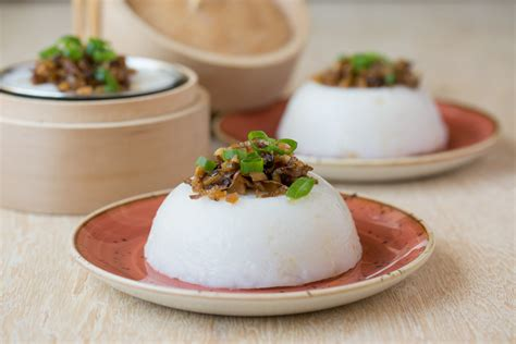steamed rice cake chwee kueh asian inspirations