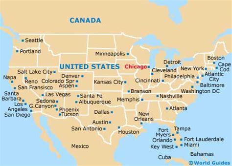 Chicago Maps and Orientation: Chicago, Illinois - IL, USA