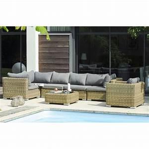 But Salon De Jardin : salon de jardin 6 8 places en r sine tress e le r ve ~ Melissatoandfro.com Idées de Décoration