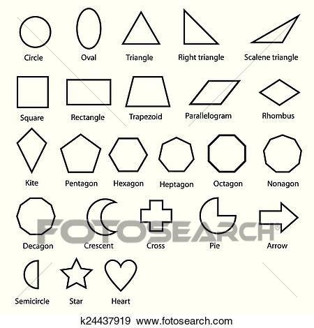 Bild Geometrische Formen by Geometrische Formen Vektor Clip K24437919 Fotosearch