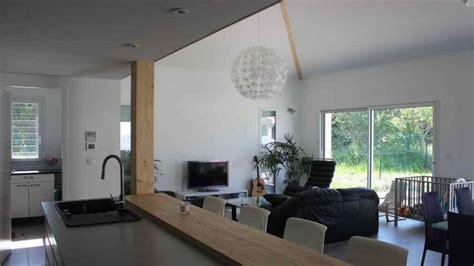 atelier cuisine rennes maison contemporaine avec mezzanine et charpente apparente à toulouse une réalisation de
