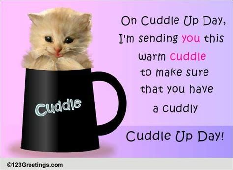 warm cuddle cuddle day ecards greeting cards