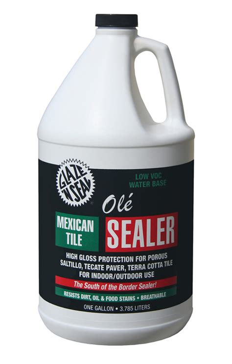 ole mexican tile sealer glaze  seal