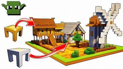 Minecraft 5x5 Medieval Tutorial Building System Easy