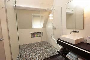 salle de bain chez particulier joue plomberie chauffage With salle de bain a l italienne photo