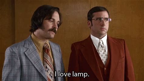 Anchorman I Love Lamp Gif 10 best anchorman quotes of all time nerd block blog