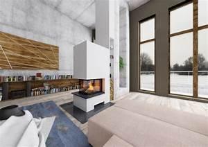 Raumteiler Küche Wohnzimmer : raumteiler 3seitig mit holzregal ~ Sanjose-hotels-ca.com Haus und Dekorationen