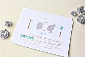His and hers couples wedding shower invitations for Couples wedding shower