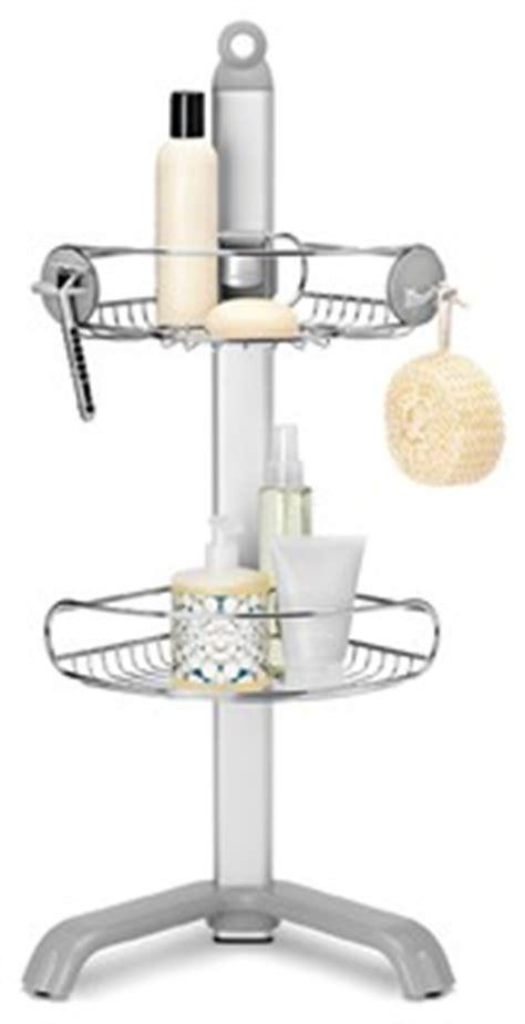 Simplehuman Sink Caddy Australia Corner Shower Caddy Modern Shower Caddies By Simplehuman