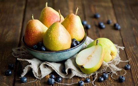 Pears Fruit Blueberries Blueberry #7038915