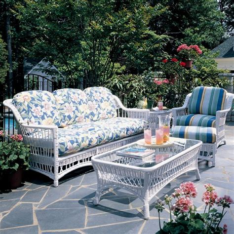 venture wicker furniture bar harbor collection