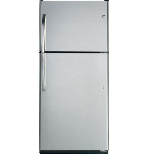 ge  cu ft top freezer refrigerator gtsisxss ge appliances