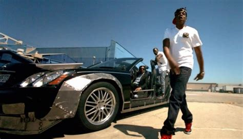 "Jay Z & Kanye West's Maybach In ""otis"" Video"