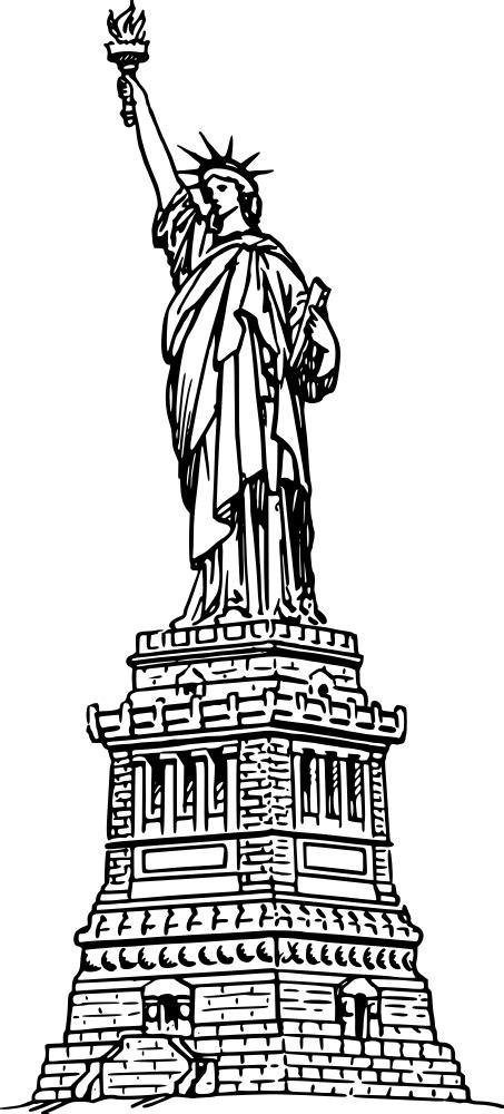 onlinelabels clip art statue  liberty