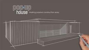 Pop Up House Avis : pop up house la maison passive construite en 4 jours ~ Dallasstarsshop.com Idées de Décoration