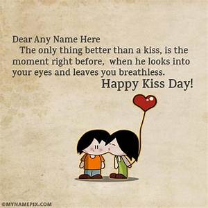 Kiss Of Love Ha... Kiss Day Romantic Quotes