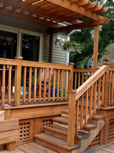 cold climate deck steps google search deck stair