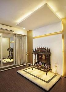 Pooja Room Designs in Hall - Pooja Room Pooja room