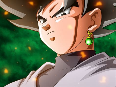 Download 1400x1050 Wallpaper Black Goku Dragon Ball