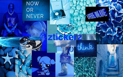 blue aesthetic desktop wallpaper macbook wallpaper
