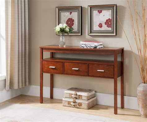 Entryway Table With Drawers Cheap