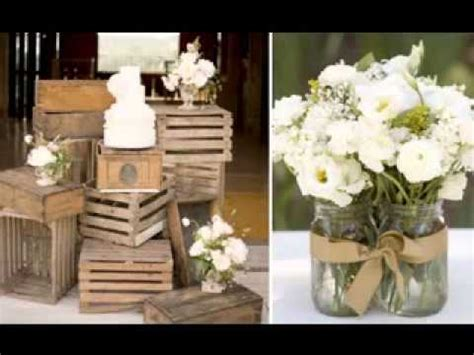 vintage wedding decoration ideas youtube