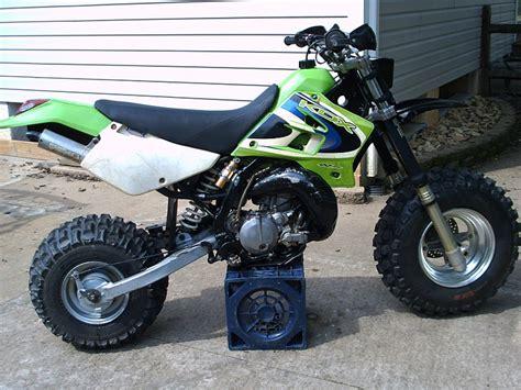 Kawasaki Yamaha Big Wheel Bw Type Kdx 200 Conversion