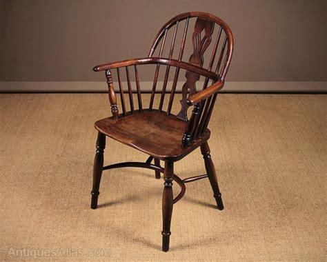 Ash And Elm Windsor Armchair C.1860.