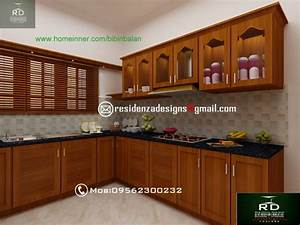 kerala kitchen interior designs by residenza designs With kerala style kitchen interior designs
