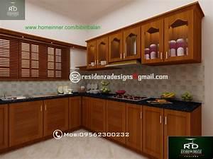 kerala kitchen interior designs by residenza designs With kerala style kitchen design picture