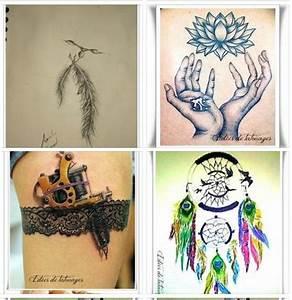 Tatouage Attrape Reve Homme : dessin tatouage femme attrape reves plume fleur en mains ~ Melissatoandfro.com Idées de Décoration